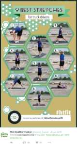 Stretches for Truck Drivers Image